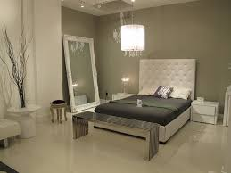 gives me an idea for a grey and white bedroom scheme one wall