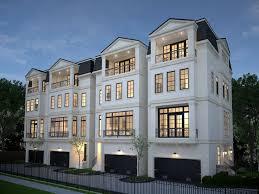 4 story house home design
