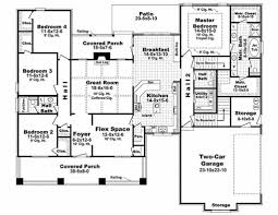 Arts And Crafts Style House Plans Craftsman Style House Plan 4 Beds 2 50 Baths 2447 Sq Ft Plan 21 308