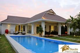 smart house private pool villa in a gated community