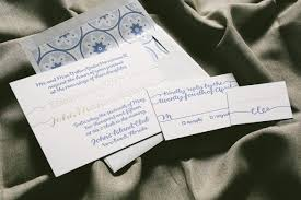 beach wedding invitations with island inspired envelope liner