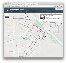 Mta Bus Routes Map by Reveal Js The Html Presentation Framework