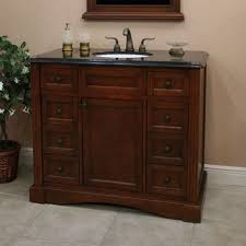 aber 42 inch antique single sink bathroom vanities