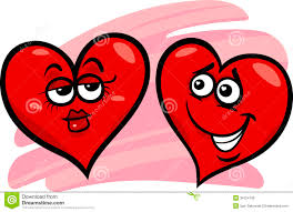 hearts in love cartoon illustration stock photos image 35323213