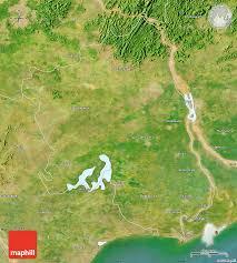 India Satellite Map by Satellite Map Of West Godavari