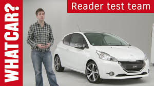 peugeot reviews peugeot 208 customer reviews what car youtube