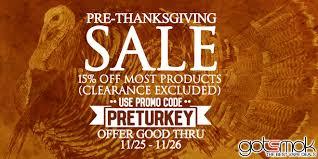 evcigarettes pre thanksgiving sale vape deals