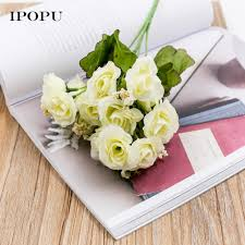 home decor flower artificial tulips spring artificial flowers home decoration