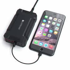 satechi 60w 6 port multi port usb desktop charging station