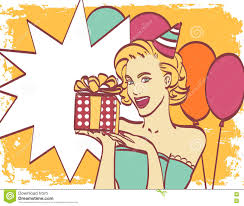 Hollywood Invitation Card Pop Art With Thought Bubble Party Invitation Birthday Card