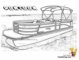 rugged boat coloring page boats free ship coloring pages pontoon