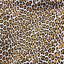 leopard fabric animal print fabric leopard print fabric black white orange pure