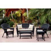 Black Resin Patio Furniture Black Wicker Furniture