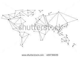 stock images similar to id 90890477 world map drawn by typography