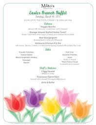 Easter Brunch Buffet by Easter Brunch Milito U0027s Restaurant