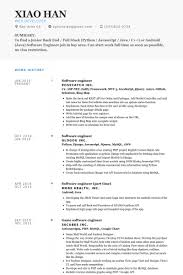 Software Engineer Fresher Resume Sample Sample Resume Format For Software Engineer Electrical Engineer