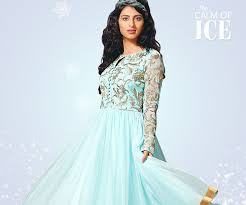 the colors of fire and ice in indian clothing u0026 dress styles