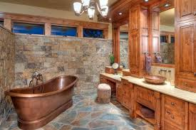 Rustic Bathroom Ideas 25 Rustic Bathroom Decor Ideas For World Copper Rustic