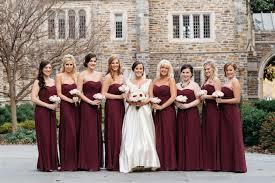 romantic wine color bridesmaid dresses ideas u2013 weddceremony com