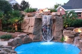pools with waterfalls swimming pool waterfalls anniegreenjeans com