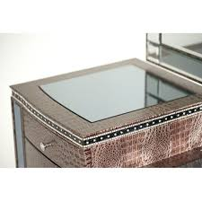 Jane Seymour Furniture Collection Hollywood Swank Aico Michael Amini Hollywood Swank Upholstered Vanity And Mirror