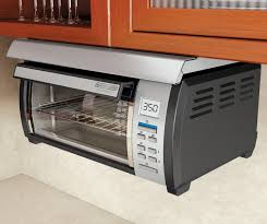Black And Decker Toaster Oven Under Cabinet Toaster Oven Black U0026 Decker Tros1000