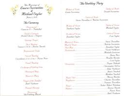 catholic church wedding program brides helping brides catholic ceremony programs show