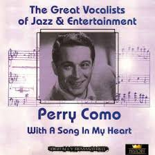 perry como with a song in my cd at discogs