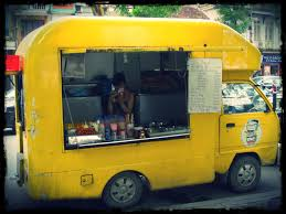 Yellow Truck Coffee yellow food food truck food truck food and