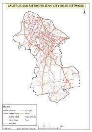 Resource Map Geographical Resource Map Lalitpur Metropolitan City