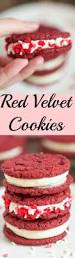 red velvet sandwich cookies two sisters kitchens