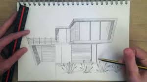 house architecture drawing architectural drawing practice 4 youtube