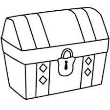 treasure chest clipart black white clipart clipartix