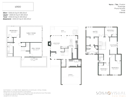 Sample Floor Plan Real Estate Residential Measuring Services Rms Sona Visual