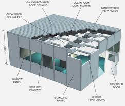 Cleanroom Ceiling Tiles by Abtech Hdw Series Modular Hardwall Cleanrooms