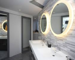 Lights For Mirrors In Bathroom Bathroom Mirrors And Lights Houzz
