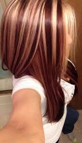 brunette hairstyle with lots of hilights for over 50 image result for blonde and auburn highlights on brown hair hair