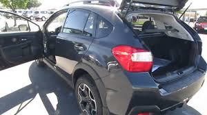 subaru suv 2016 crosstrek 2014 subaru xv crosstrek in dark grey metalic premium package walk