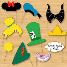 disney photo booth props mickey mouse disney princess