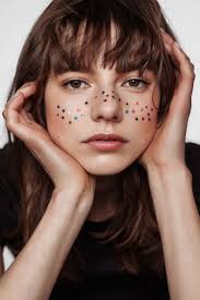 sparkle freckles cake face pinterest makeup face and hair