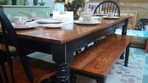 farm tables with benches beautiful farm table with matching bench and chairs osborne wood