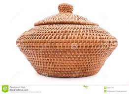 Rattan Baskets by Wicker Basket With Lid White Wash Rattan Rectangular Storage