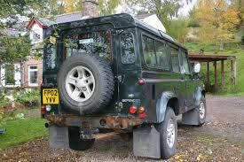 land rover rusty our land rover defender 110 td5 county u2013 part 1 appy wanderers