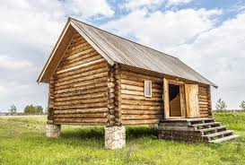 wooden log cabin log cabin when is the time to prepare the foundation