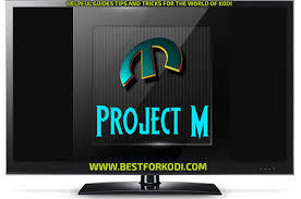 how to install project m install project m kodi addon best for kodi