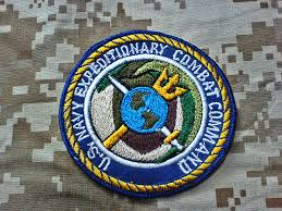 us navy expeditionary combat command patch manual embroidery