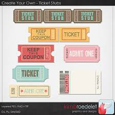 create your own ticket stubs collages pinterest ticket