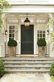 Front Door Porch Designs by Great Porch Ideas Good Blue Is A Great Color For A Front Door In