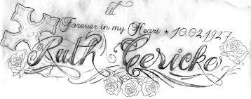 tattooflash josephin lettering by 2face tattoo on deviantart