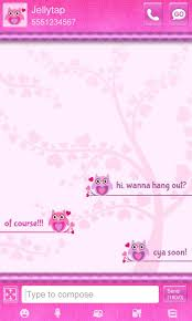 text backgrounds for android owls theme go sms android apps on play